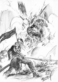 The Silmarillion: Feanor and Gothmog. And I'll give you two hints: one of 'em doesn't survive the encounter, and Gothmog is killed by Ecthelion in Gondolin.<---- Well that didn't spoil at all.