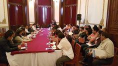 Instala Gobernador Alejandro Murat la primera mesa de trabajo con la Comisión Política entrante de la Sección 22 del SNTE