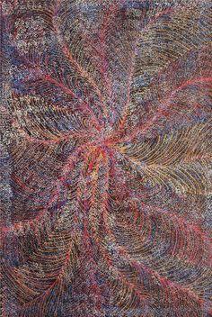 Maureen Purvis Kngwarreye ~ Kame (Pencil Yam Seed)