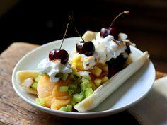 All Fruit Banana Split by tastespotting.com #Banana_Split #tastespotting #Fruit