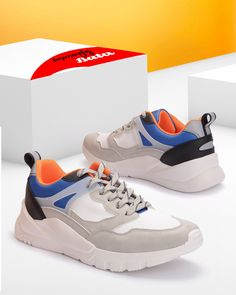The sneaker trend is in full stride... why not get creative with some bold colors that are surprisingly Bata! Bata Shoes, Men's Shoes, Chunky Sneakers, Shoe Collection, Bold Colors, Moccasins, Oxford, Loafers, Boots