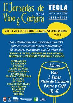 Restaurante La Zaranda en Yecla, Murcia Murcia, Four Square, Tapas, Bar, Hotels, Restaurants, Spoons, Wine, Wine Cellars