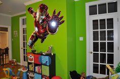 Full color Superheroes Iron man sticker, Iron man decal, wall art deca – Stickalzllc
