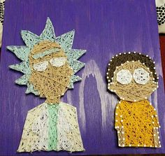 Rick and morty by DiyGoodsells on Etsy