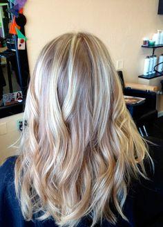 awesome Окрашивание балаяж на длинные волосы (50 фото) — Модные идеи и прически