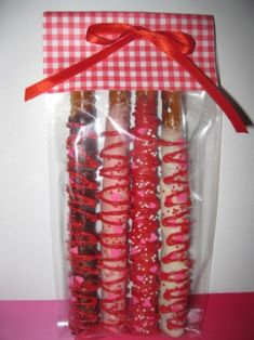 V-Day - Make for my choco dipped pretzel loving hubby