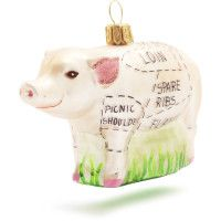 Sections of pig | Ornaments for the Chef | Sur La Table
