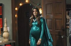 She's an alien: Modern Family's episode on Wednesday shows Sofia Vergara's character dressed for a Halloween party