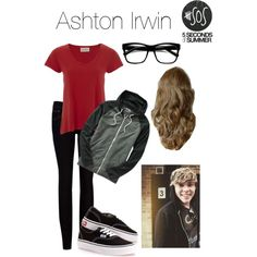 Ashton Irwin (5 Seconds of Summer) inspired