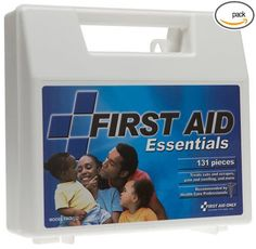 """First Aid KIT FAO-132 All Purpose First Aid Kit, 131 pc Organizer Case, 8-7/8"""" #FirstAidOnly"""