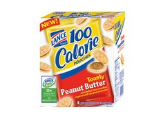 100 Calorie Toasty® — Made with real peanut butter  #LanceBacktoSchoolChecklist