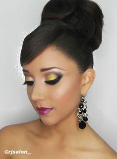 makeup and hair by @rjsalon_  @jkharyn