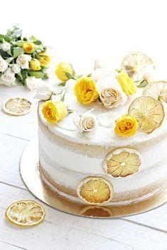 Drop Cake, Torte Cake, Sweet Bakery, Chiffon Cake, Amai, Food Hacks, Vanilla Cake, Cake Recipes, Food And Drink