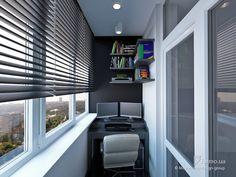 Однокомнатная для семьи с ребенком, Mooseberry design group, Лоджия/Балкон, Дизайн интерьеров Formo.ua
