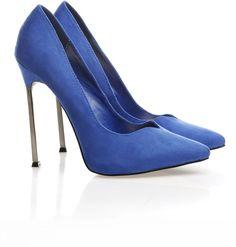 Zigi soho metal heel suede stiletto on Souq.com