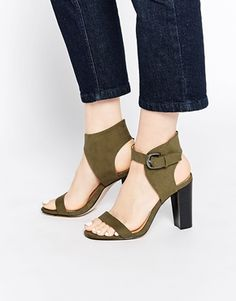 ASOS TRINITY Two Part Heeled Sandals