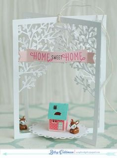 Home Sweet Home Decor by Betsy Veldman for Papertrey Ink (December 2014)