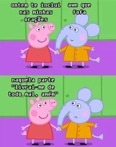 Collection of 50 Funny Brazilian Memes of the Week Pictures Phrases Photos Funny Laugh, Haha Funny, Funny Memes, Peppa Pig Memes, Haha Meme, America Memes, Little Memes, Shape Puzzles, Otaku Meme