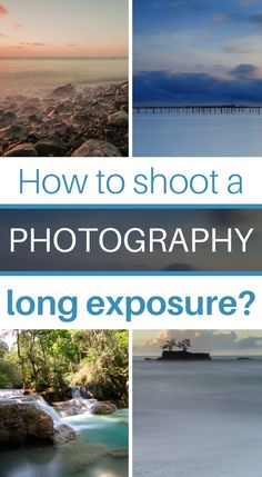 I love to shoot in my daily life and even when I travel, long exposures. In this article, I present you how to shoot this type of pictures during all conditions (night, day, sunset/sunrise, etc.) and especially how to choose your camera equipment! Wedding Photography Tips, Photography Basics, Exposure Photography, Photography Courses, Photography Editing, Outdoor Photography, Light Photography, Photo Editing, Learn Photography