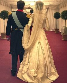 Mary Of Denmark, Denmark Royal Family, Danish Royal Family, Royal Wedding Gowns, Royal Weddings, Wedding Dresses, Prince Frederick, Queen Margrethe Ii, Danish Royalty