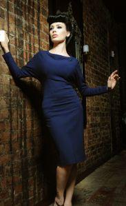 Davina Batwing Dress