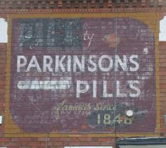 Local 'ghost sign'