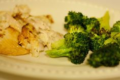 Little Mrs. Married: Broiled Tilapia & Oven-baked Broccoli