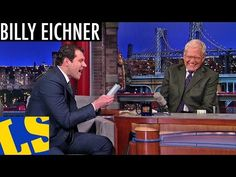 Billy Eichner Cracks Up David Letterman and me too.