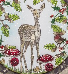 Winter Woodland Clear Stamps brought to you by Craft Consortium Co Design, Decoupage Paper, Clear Stamps, Woodland, Moose Art, Card Making, Winter, Illustration, Cards