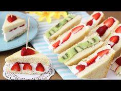 (14) TRAMEZZINI GELATO ALLA FRUTTA - Ricetta facile - gelato fatto in casa - - YouTube Beautiful Fruits, Hot Dog Buns, Sweet Recipes, Sandwiches, Cheesecake, Deserts, Brunch, Bread, Cooking
