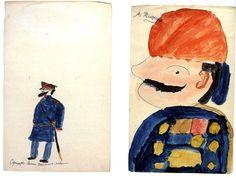Drawings done by Alexei Romanov