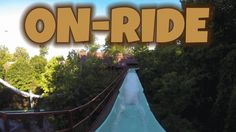 Le Scoot Log Flume On-ride Front Seat (HD POV) Busch Gardens Williamsburg