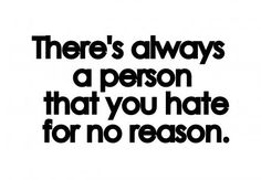 There's always a person…