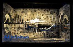 "Barneys New York window display ""Ad Infinitum"" by  by Shelton, Mindel & Associates, 2011"