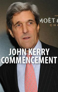 John Kerry returned to his alma mater Yale to address the graduating class and take a stab at Donald Sterling. http://www.recapo.com/today-show/today-show-news/today-show-911-memorial-gift-shop-john-kerry-commencement-speech/