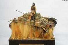 Left behind - Pz.Kpfw.II Ausf.L Luchs