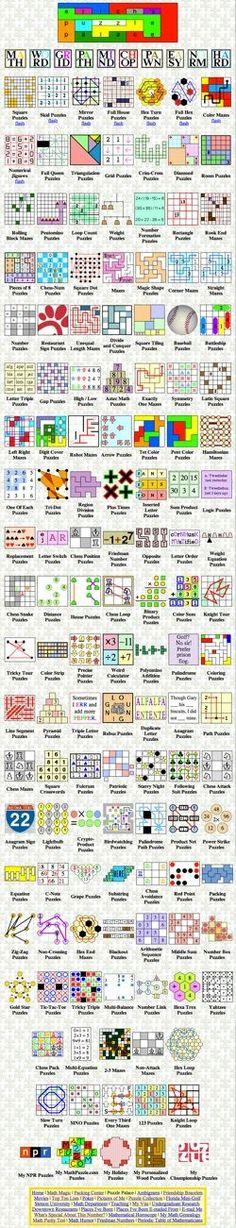 Erich Friedman is the top resource for math puzzles. He is prolific and reliably brilliant. Visit his Puzzle Palace and assign some of his puzzles as homework, but don't miss the rest of his extensive web site especially his Packing Center.
