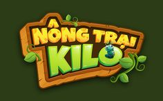 kiLo Farm game - graphic for old gameplay on Behance Bg Design, Game Logo Design, Graphic Design, Video Game Logos, Farm Games, Farm Logo, Cartoon Logo, Game Concept, Kids Logo