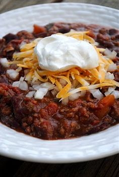 Meaty Chili Recipe