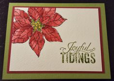 Joyful Christmas (Stampin' Up) Card