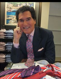 Ernie Anastos shares his love for #Ties