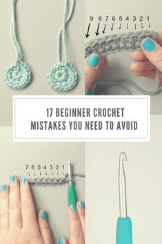 Looking for some beginner crochet tips? Look no further. These are the 17 things you need to avoid when you're learning to crochet...