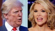 Porque no quiere ver Donald Trump a Megyn Kelly en el debate republicano en Iowa, Estados Unidos.