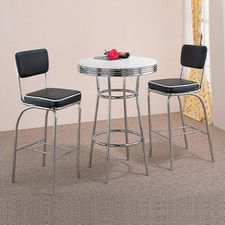 Limited supply Red Cliff Retro Pub Table Set OnSale Expert