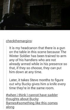 <><> This has got to be the most gutwrenching headcanon I've ever read.
