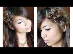 cute double bow hair