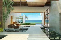 Crazy Modern mansion in Indian Creek, FL