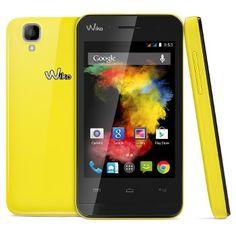 Smartphone Wiko Goa jaune 45,92 € livré le moins cher #android