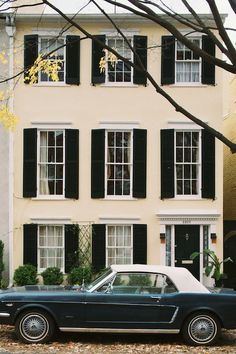 Unabashedly Prep - A Tour of JFK's Georgetown Homes - 3260 N Street NW