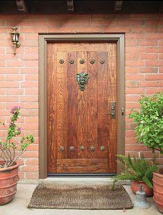 Входная дверь и фэн шуй